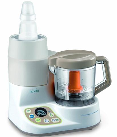 Robot da Cucina Cuocipappa a Vapore con  Scaldobiberon Nuvita
